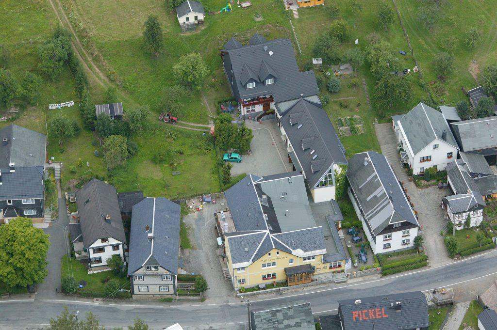 Luftaufnahme Hotel Gasthaus Steiger